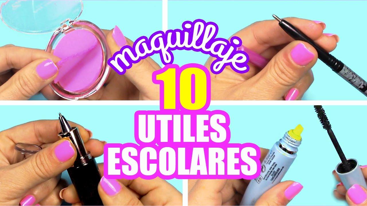 Convierte tu maquillaje en utiles escolares manualidades - Manualidades faciles paso a paso ...