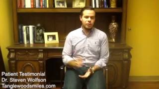 Houston Cosmetic Dentist Patient Review Dr Steven Wolfson Thumbnail