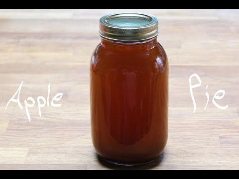 Apple Pie Moonshine!  Good 'Ol Pie In A Jar!