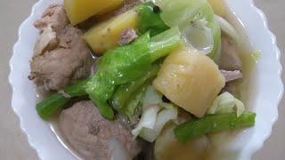 Nilagang buto-buto ng baboyHow to cook pork ribs stew