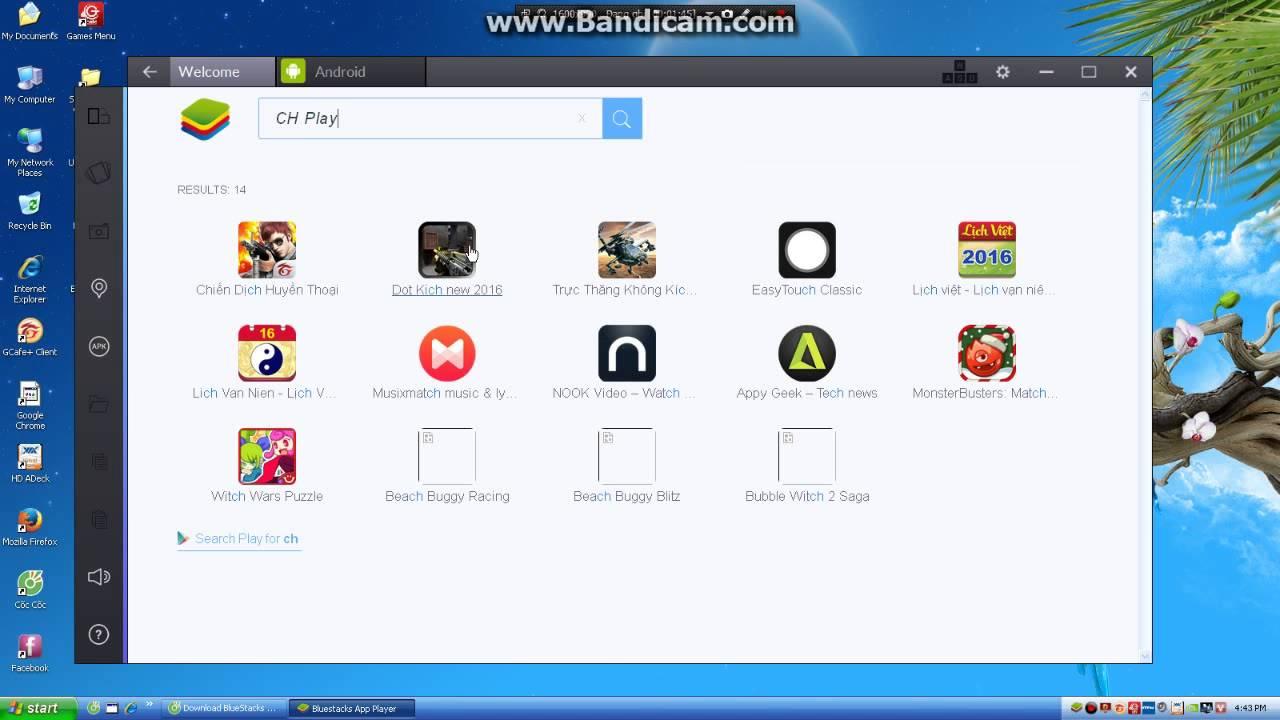 Hướng dẫn cài đặt BlueStacks và chơi tất cả các game trên PC. ( Window XP )
