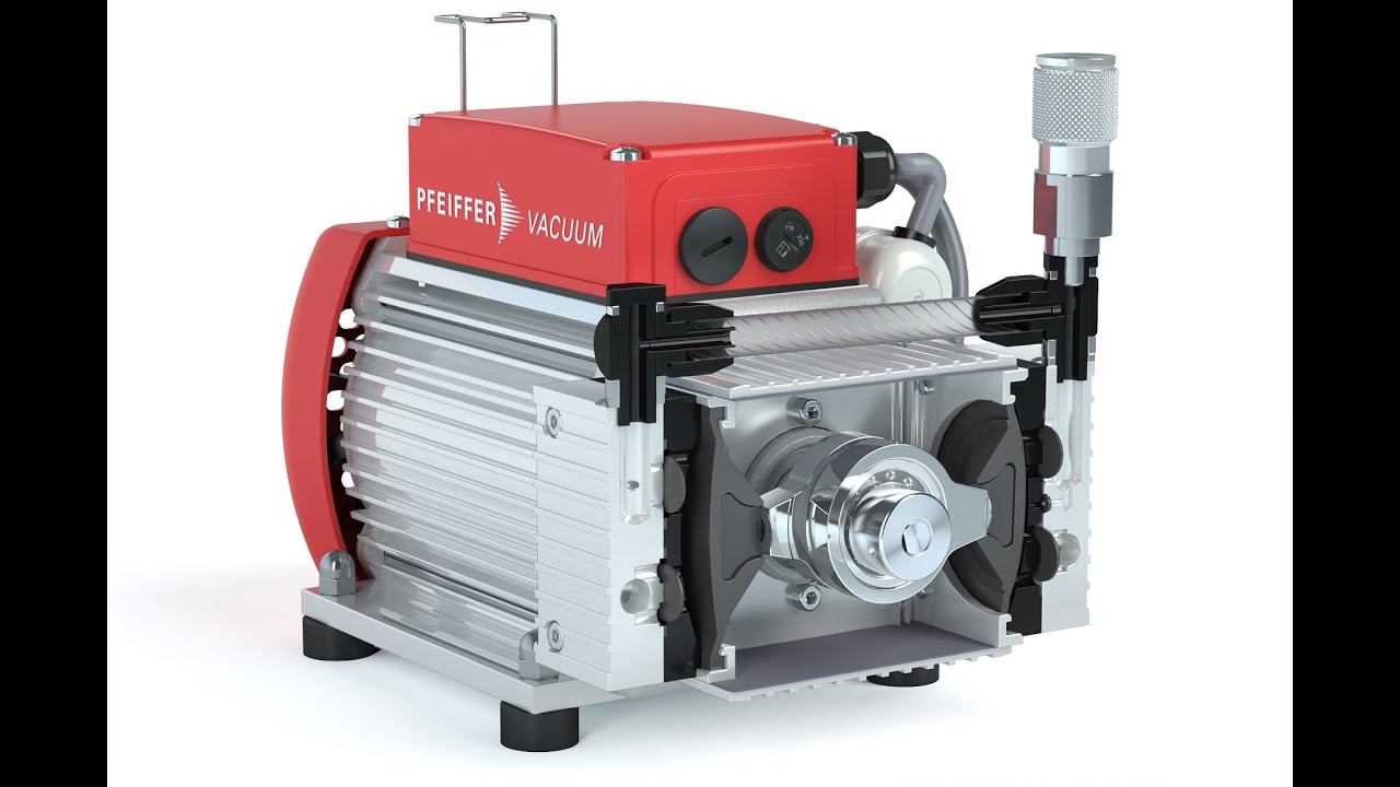 Working principle of the pfeiffer vacuum diaphragm pump mvp youtube working principle of the pfeiffer vacuum diaphragm pump mvp ccuart Gallery