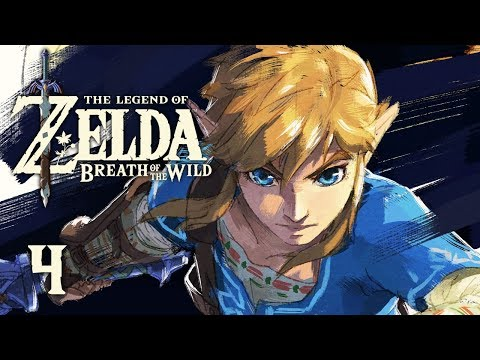 A CHAMPION - Let's Play - The Legend of Zelda: Breath of the Wild - 4 - Walkthrough Playthrough