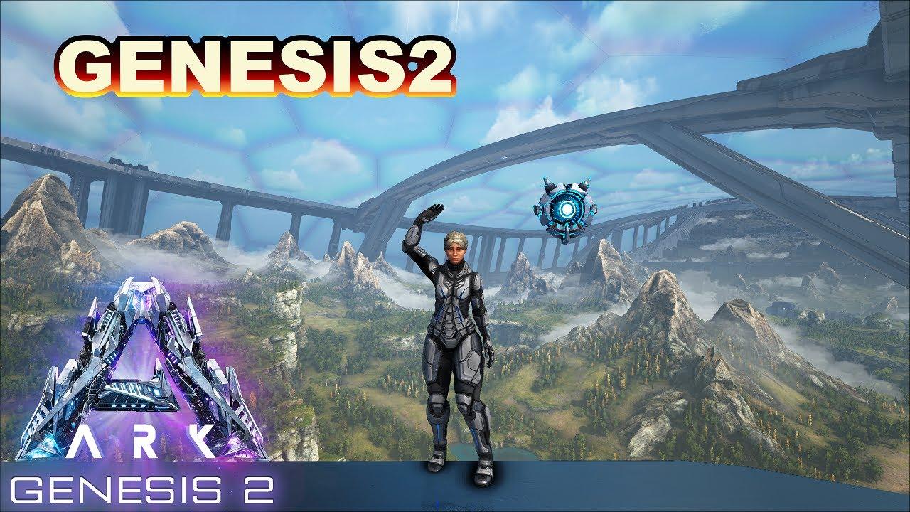 #1【ARK:G2】ARK最終ストーリマップ!Genesis2楽しんでくぞー🌙*【PC版公式PVE:ARK Survival Evolved】
