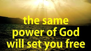 2020 Worship Song - PetersonPraise - The Same Power That Raised Jesus From The Dead Will Set Me Free