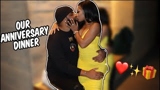 OUR ANNIVERSARY NIGHT OUT.. *SPONTANEOUS VACATION REVEAL!!*