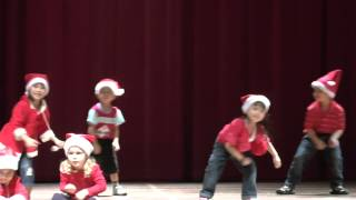 Jingle Bells - Christmas dance song in Chomel