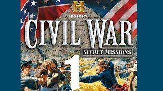 Let's Play Civil War: Secret Missions Level 1 - Dawn at Chancellorsville