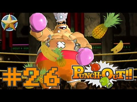 Let's Play Punch-Out!! Wii [Blind] - #26   King Hippo TD Challenges