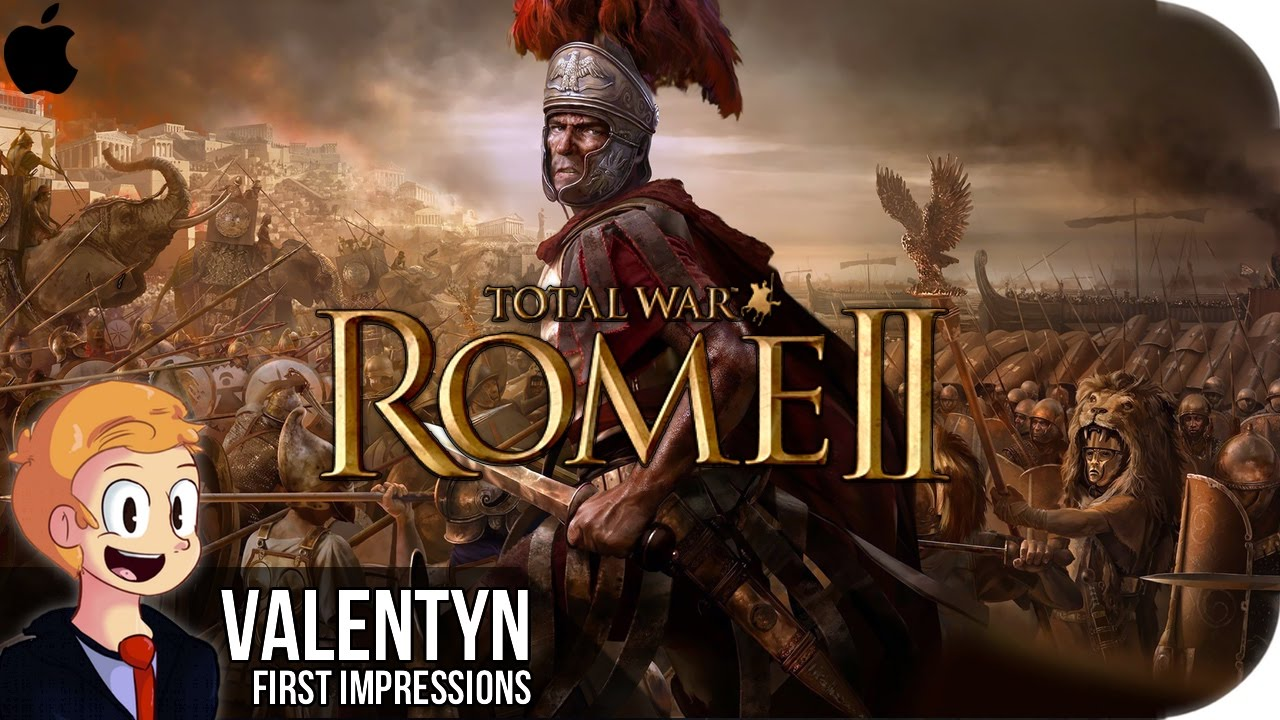 Total War Rome II Emperor Mac Edition - 2160p