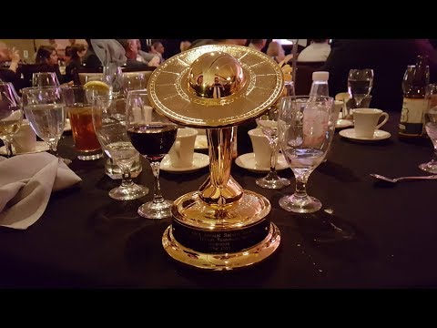 Archie Publisher/CEO and Riverdale Exec Producer Jon Goldwater accepts Saturn Award