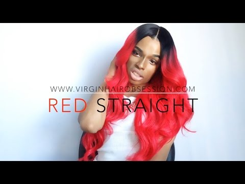 VirginHairObsession Rihanna Red Hair Review + Giveaway