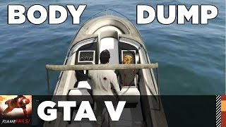 Body Dump - GTA V (Glitch) - GameFails