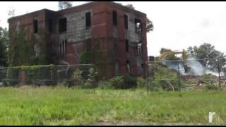 Middletown Psychiatric Center fire aftermath