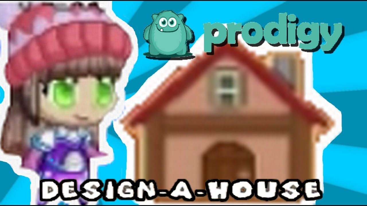 prodigy math game - design-a-house house decorating! - youtube