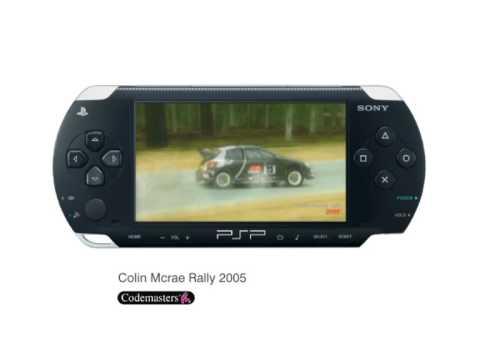 Colin McRae Rally 2005 trailer (PSP)