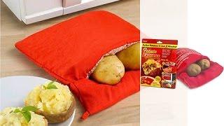 Мешок для запекания картофеля в микроволновке «Экспресс-картошка» [Domatv.by]