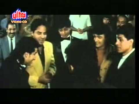 SRK, Aamir & Saif Together in the scene of Pehla Nasha