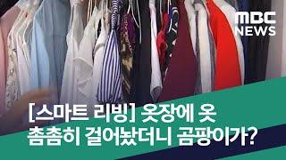 [스마트 리빙] 옷장에 옷 촘촘히 걸어놨더니 곰팡이가?…