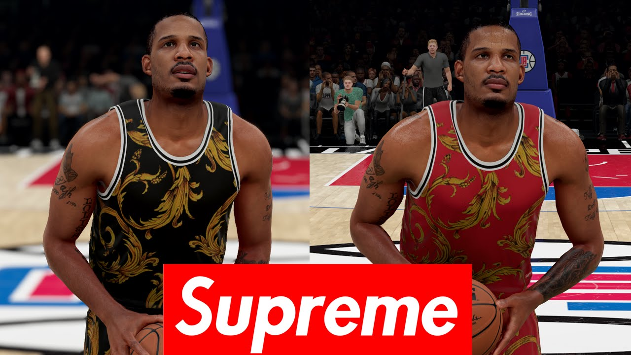 d165374ea NBA 2K16 Nike Supreme Jersey Tutorial - YouTube