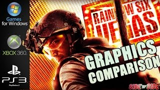 Rainbow Six Vegas | Graphics Comparison | ( PC , XBOX 360 , PS3 )