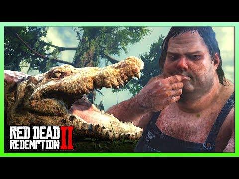 Legendary Alligator VS Tubby Aberdeen   Red Dead Redemption 2 thumbnail
