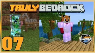 Truly Bedrock S0 EP7 : King Foxynotail ?! [ Minecraft, MCPE, Bedrock Edition,Windows 10 ]