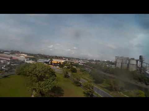 HD Kuching fpv drone fun at muara tabuan light industrial park