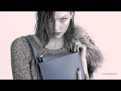Karlie Kloss for Lancaster Paris Fall 2014
