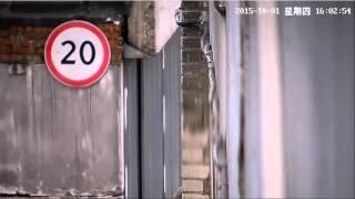 Видеозапись с уличной IP камеры Zodiak 988 (Full HD, 1920x1080 Пикс, улица)