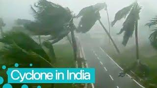 Cyclone Fani Hits India's Odisha [Crazy Weather Footage]