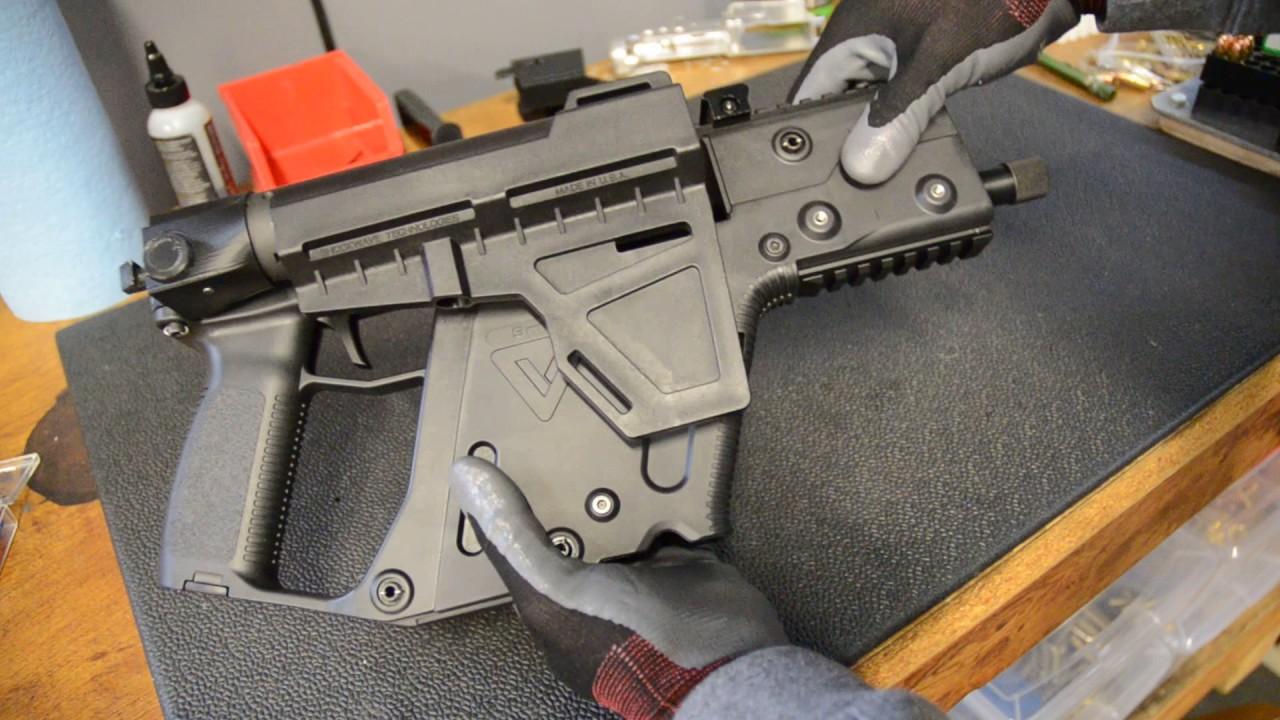 Kriss Vector Folding Pistol Brace Adapter