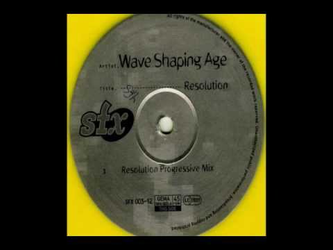 Wave Shaping Age - Resolution (Techno 1995)