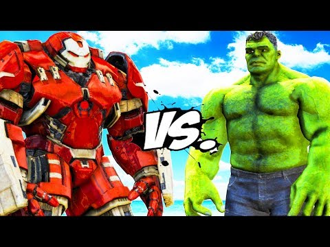 HULKBUSTER VS HULK (MCU) - EPIC BATTLE - 동영상