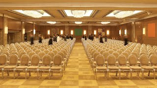 State of the art meeting space at the Athenaeum InterContinental Athens