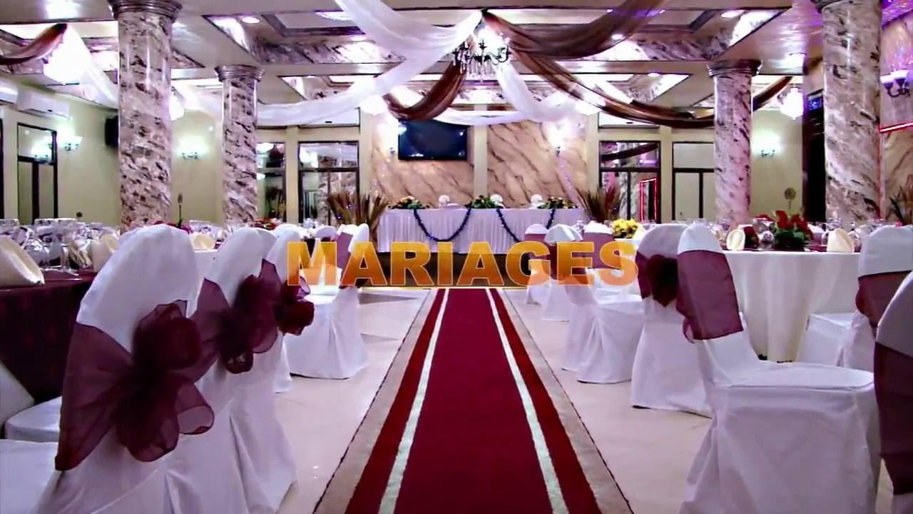 Carpediem Hotel Kinshasa Decoration Salle Polyvalente Youtube