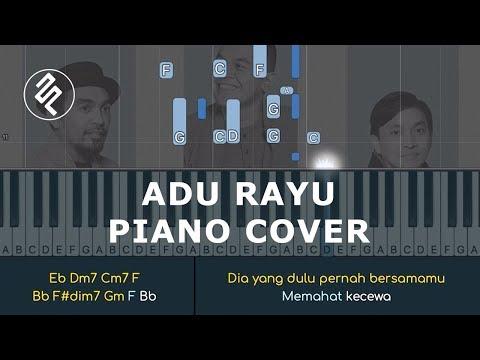 Yovie Tulus Glenn - Adu Rayu Instrumental Piano Cover / Chord / Lirik