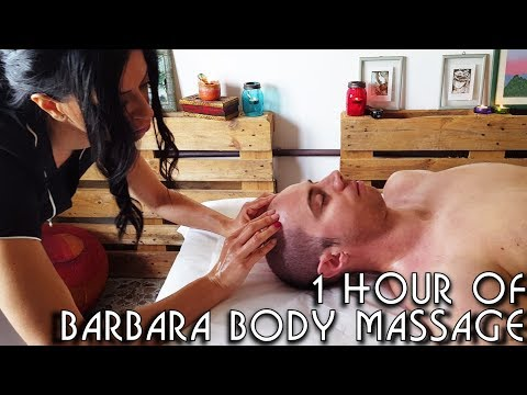 💆 1 Hour of Barbara's Complete Body Massage Techniques - ASMR no talking