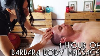 💆 1 Hour of Barbara's Complete Massage Techniques - ASMR no talking