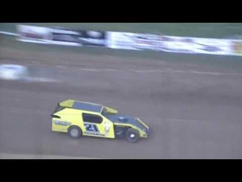 Crowley's Ridge Raceway 5/21/16 #21 Chris Sims Modified Heat Race
