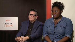 Lea DeLaria & Danielle Brooks Interview: Orange Is The New Black