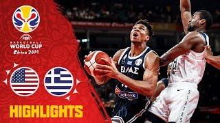 USA v Greece - Highlights - FIBA Basketball World Cup 2019