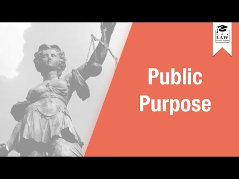 Trust Law - Public Purpose Trusts
