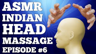 ASMR Indian Head Massage + BONUS Face and Ear Massage - ASMR Barber Shop -6-