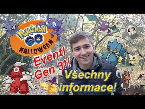 Pokémon GO | Halloween Event a GEN 3! Všechny informace! | JakubDestro