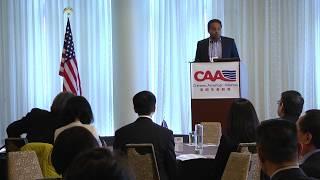 Vijay Jojo Chokal Ingam spoke at the CAA 2nd National Conference