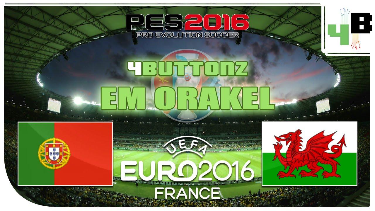 Halbfinale Wales Portugal