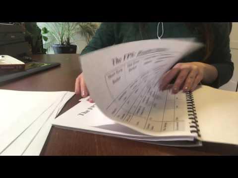 ASMR Paper Sorting/Paper Tearing/Page Turning