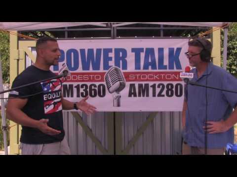 Modesto 2A Rally  -  Power Talk Radio Interview