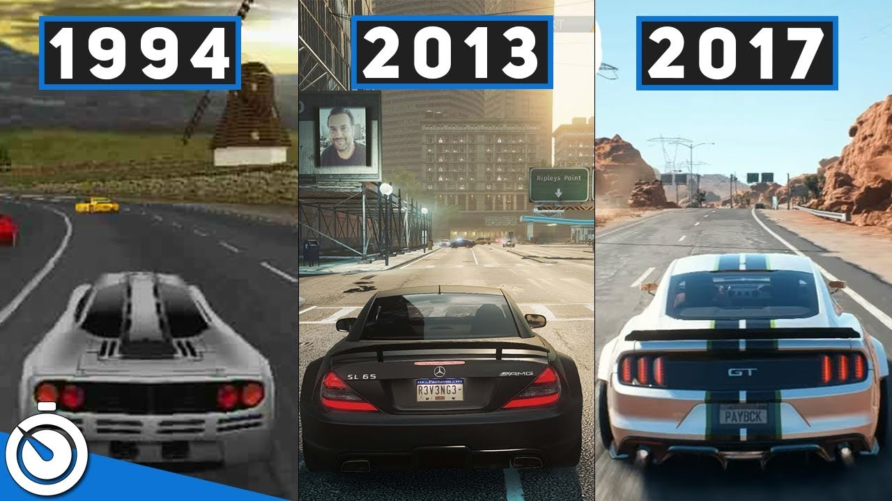History And Evolution Of Need For Speed (From 1994 To 2017)